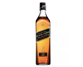 Whisky Johnnie Walker Black Label Botella x 375ml
